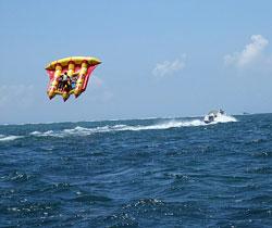 Flying fish water sport - photo#6
