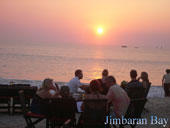 seafood at jimbaran beach