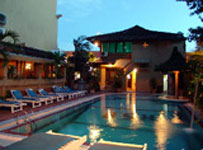 Swimmngpool At bali Summer