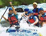 rafting at ayung river